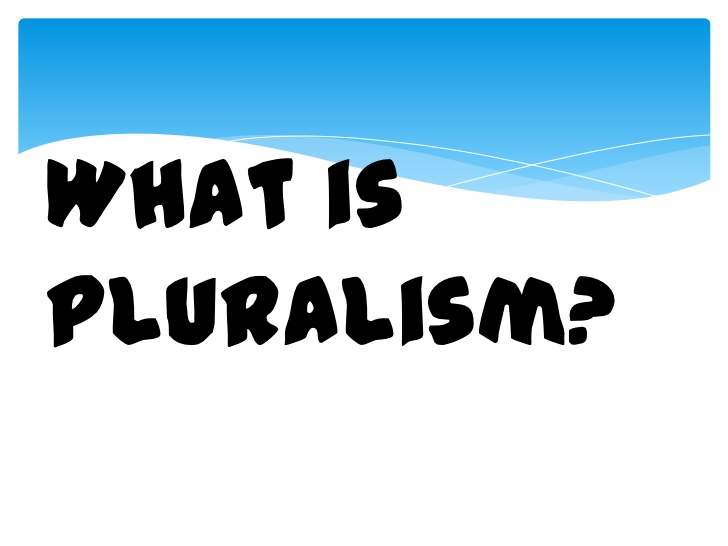 Image result for Pluralism logo